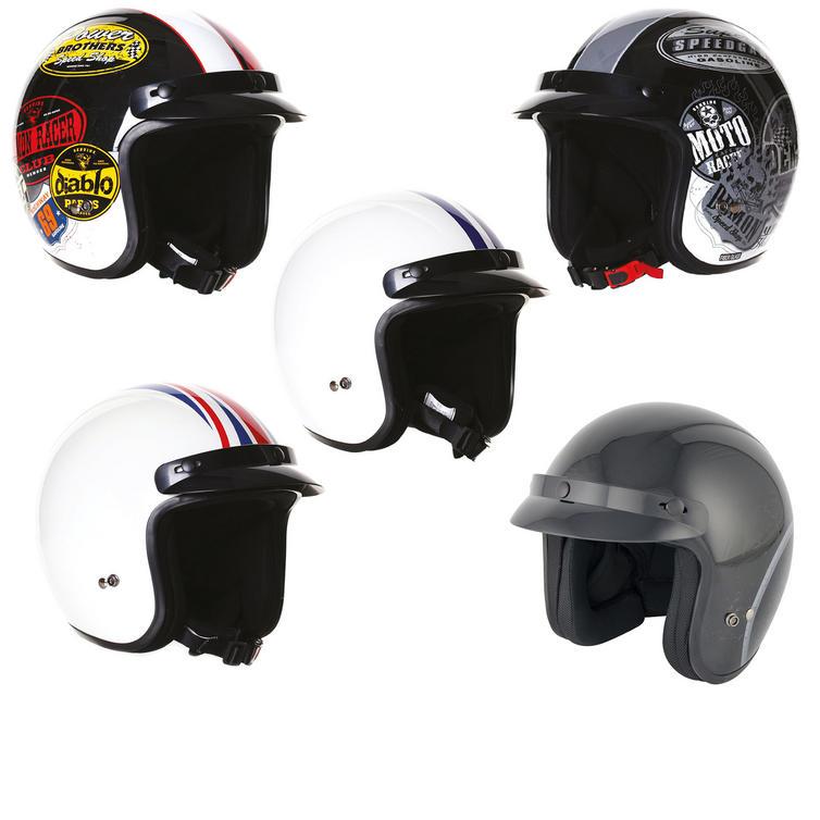 Stealth HD320 Fibreglass Open Face Helmet
