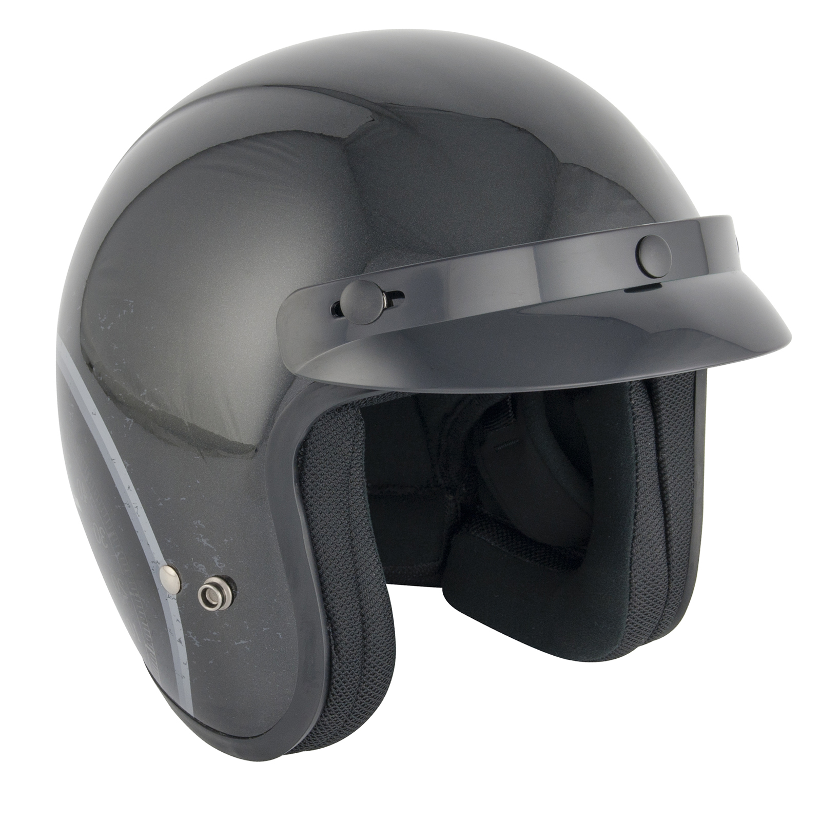 stealth hd320 glasfaser roller motorrad jet helm stadt. Black Bedroom Furniture Sets. Home Design Ideas