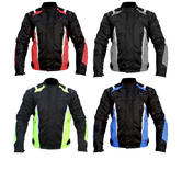 Black Turbo Motorcycle Jacket