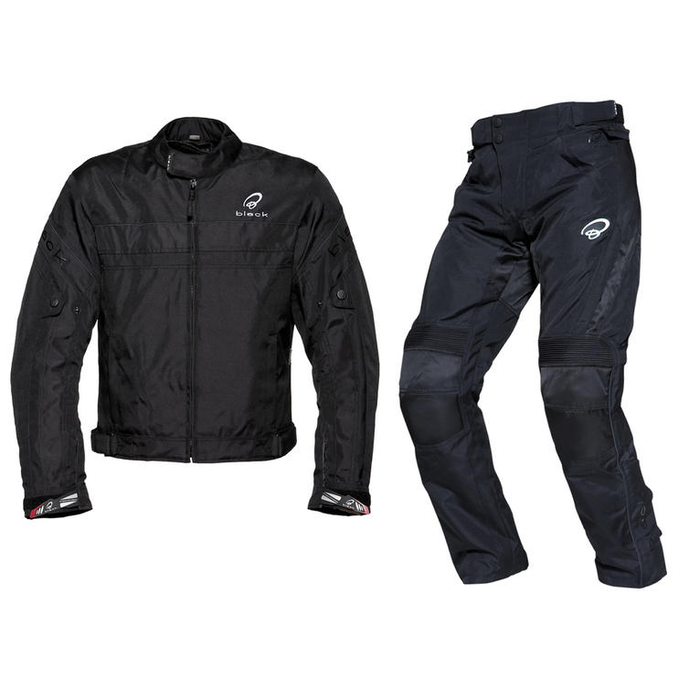 Black Argon Evo Jacket & Atom Trousers Kit Black
