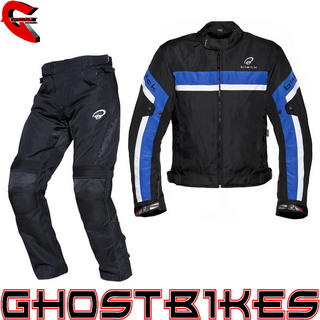 View Item Black Argon Evo Jacket & Atom Trousers Blue