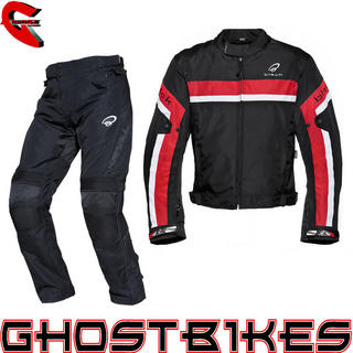 View Item Black Argon Evo Jacket & Atom Trousers Red