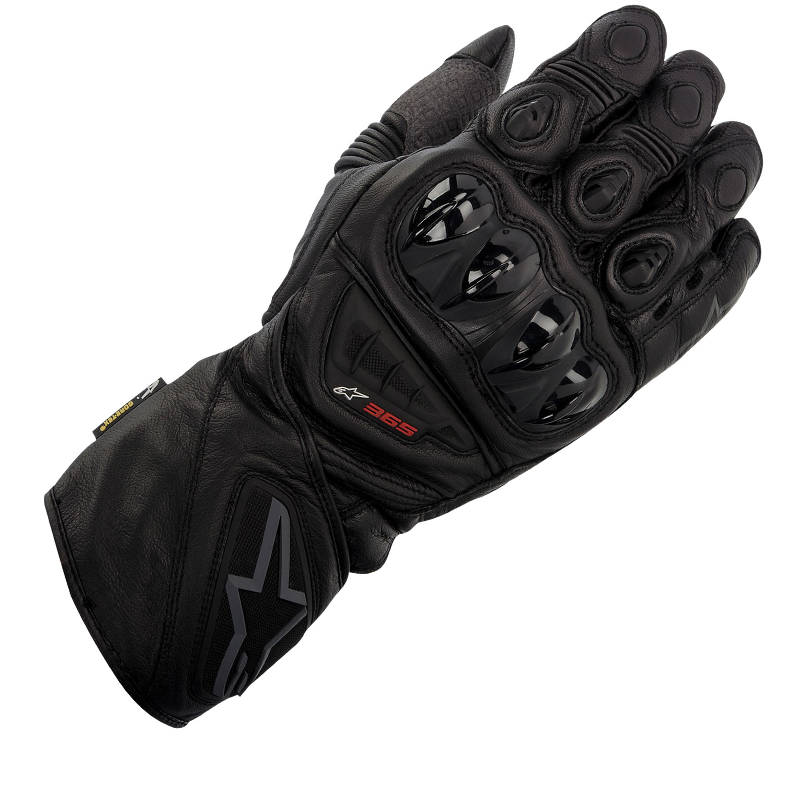 Xtrafit motorcycle gloves - Alpinestars 365 X Trafit Gore Tex Leather Motorcycle Gloves