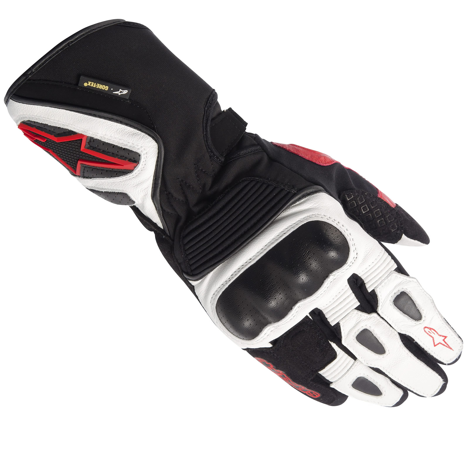 Xtrafit motorcycle gloves - Alpinestars Gts Xtrafit Motorcycle Leather Gore Tex Gtx