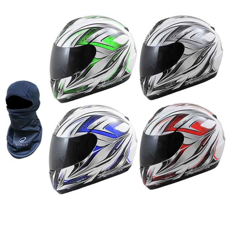 MT Thunder Roadster 2 Motorcycle Helmet (FREE Balaclava)