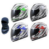 View Item MT Thunder Roadster 2 Motorcycle Helmet (FREE Balaclava)