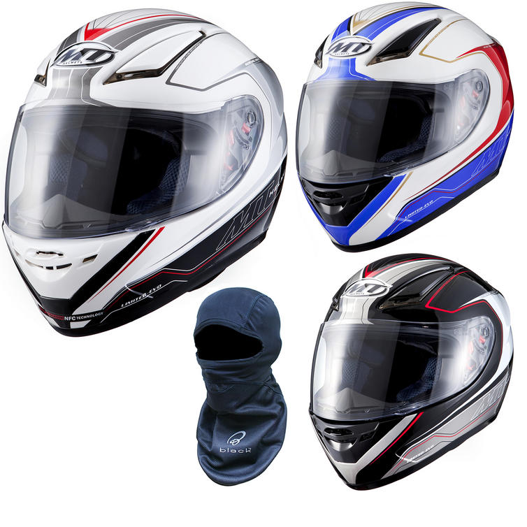 MT Revenge Evo Motorcycle Helmet (Free Balaclava)