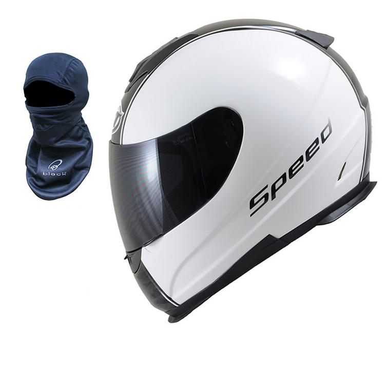 MT Thunder Lightning Speed Motorcycle Helmet (FREE Balaclava)