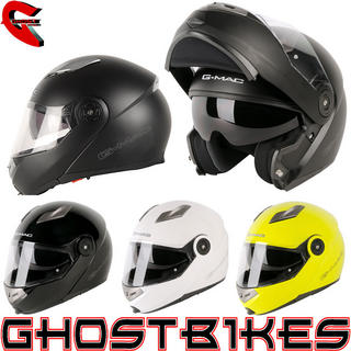 View Item G-Mac Glide Flip Front Motorcycle Helmet