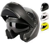 G-Mac Glide Flip Front Motorcycle Helmet
