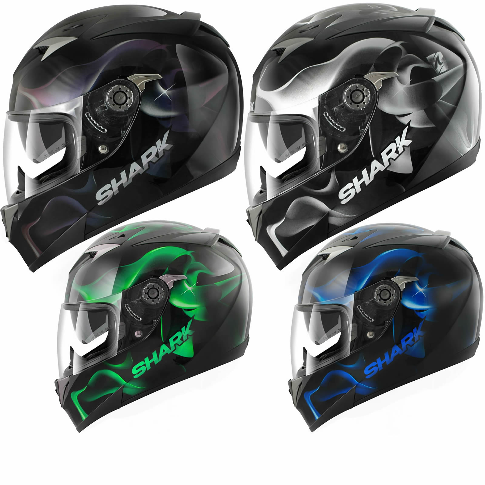 shark s900 c glow 3 moto sport course casque int gral pare soleil interne sharp ebay. Black Bedroom Furniture Sets. Home Design Ideas