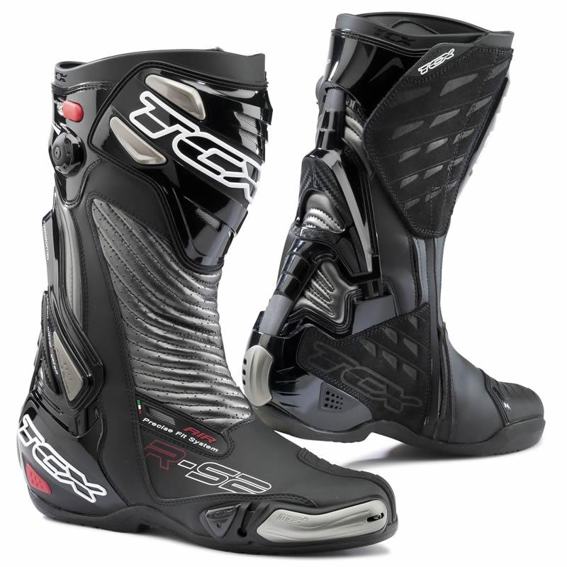 tcx r s2 evo moto race sport course ce approuv bottes noir rouge blanc sportif ebay. Black Bedroom Furniture Sets. Home Design Ideas