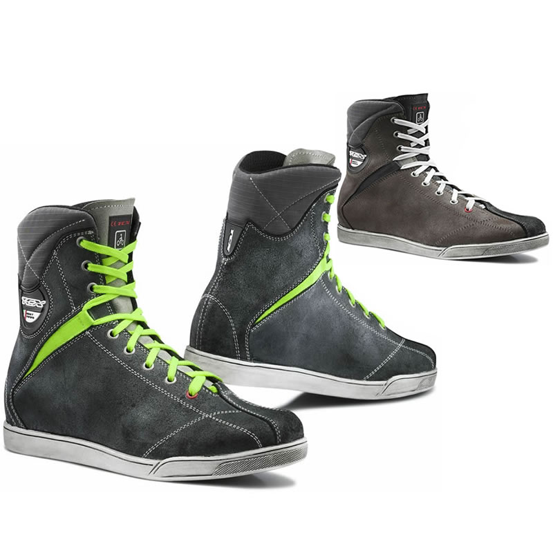 TCX X-RAP MENS LACE UP WATERPROOF CASUAL MOTORCYCLE RIDING SHOES BOOTS TRAINERS Enlarged Preview