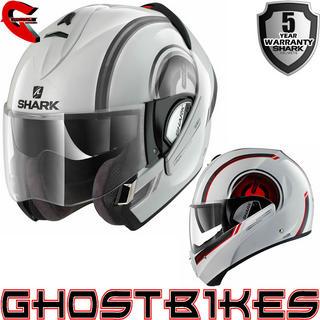 View Item Shark Evoline Series 3 Moov Up Motorcycle Helmet