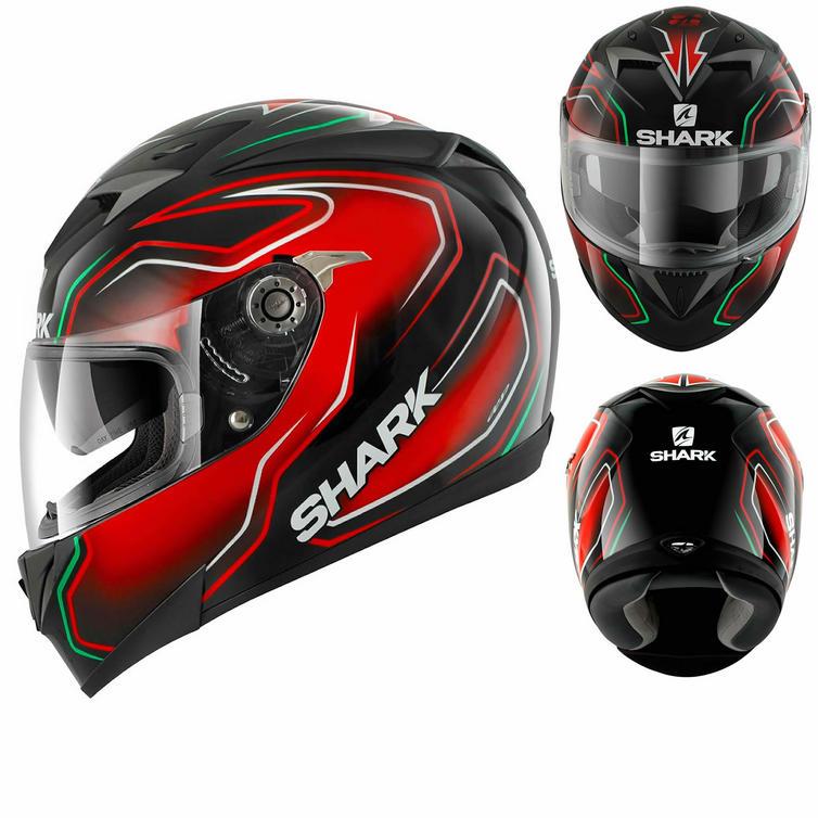 Shark S700-S Guintoli Replica Motorcycle Helmet
