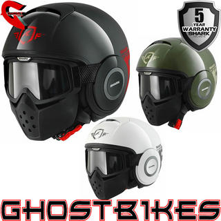 View Item Shark Raw Trinity Motorcycle Helmet