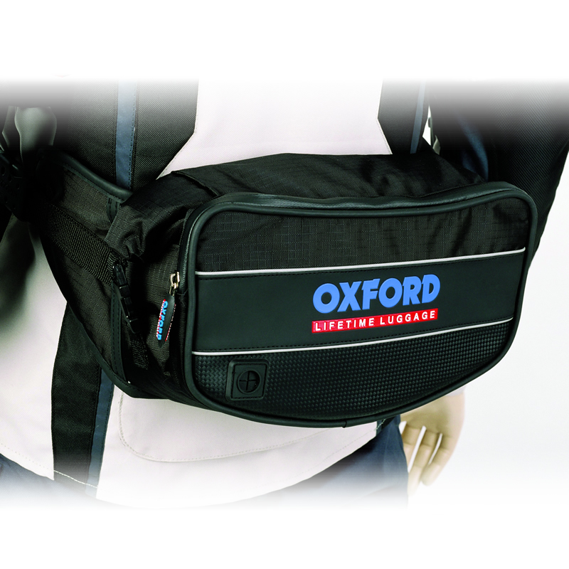 OXFORD RT4 ROLL TOP WAIST PACK MOTORCYCLE WATERPROOF 4 LITRE 4L BUM BAG LUGGAGE Enlarged Preview
