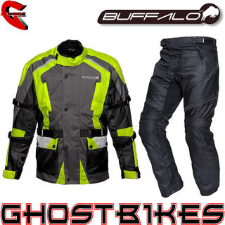 View Item Buffalo Storm Jacket and Rampage Trousers Kit Hi Vis