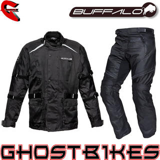 View Item Buffalo Storm Jacket and Rampage Trousers Kit Black