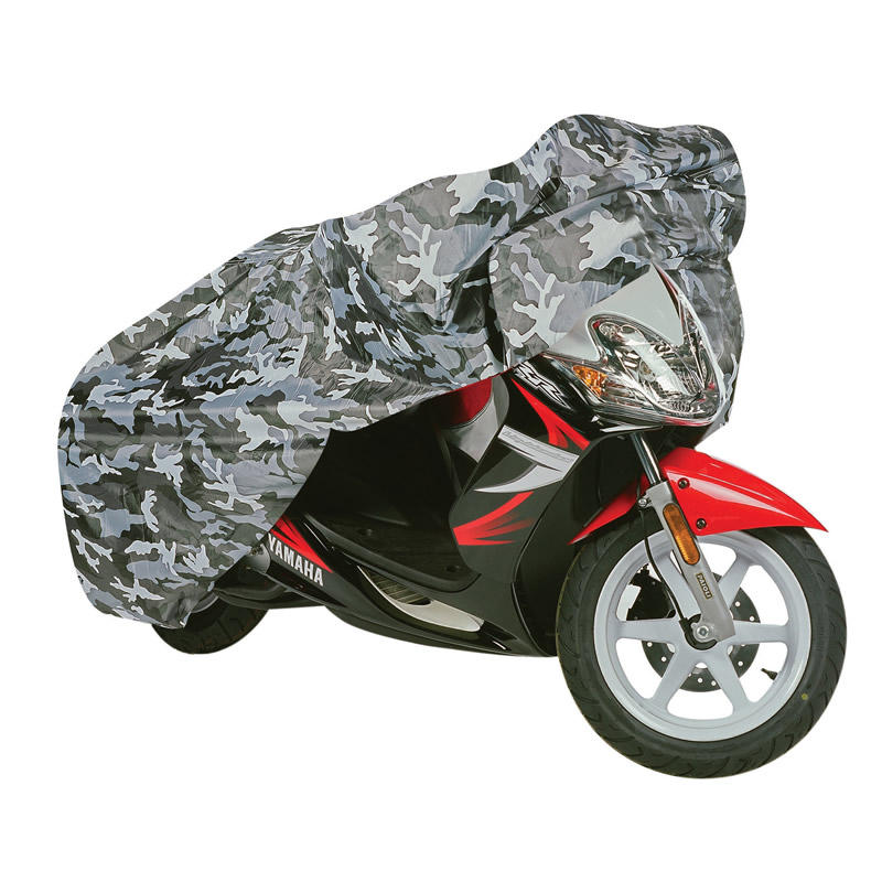 Oxford Aquatex Camo Motorcycle Cover (Small)