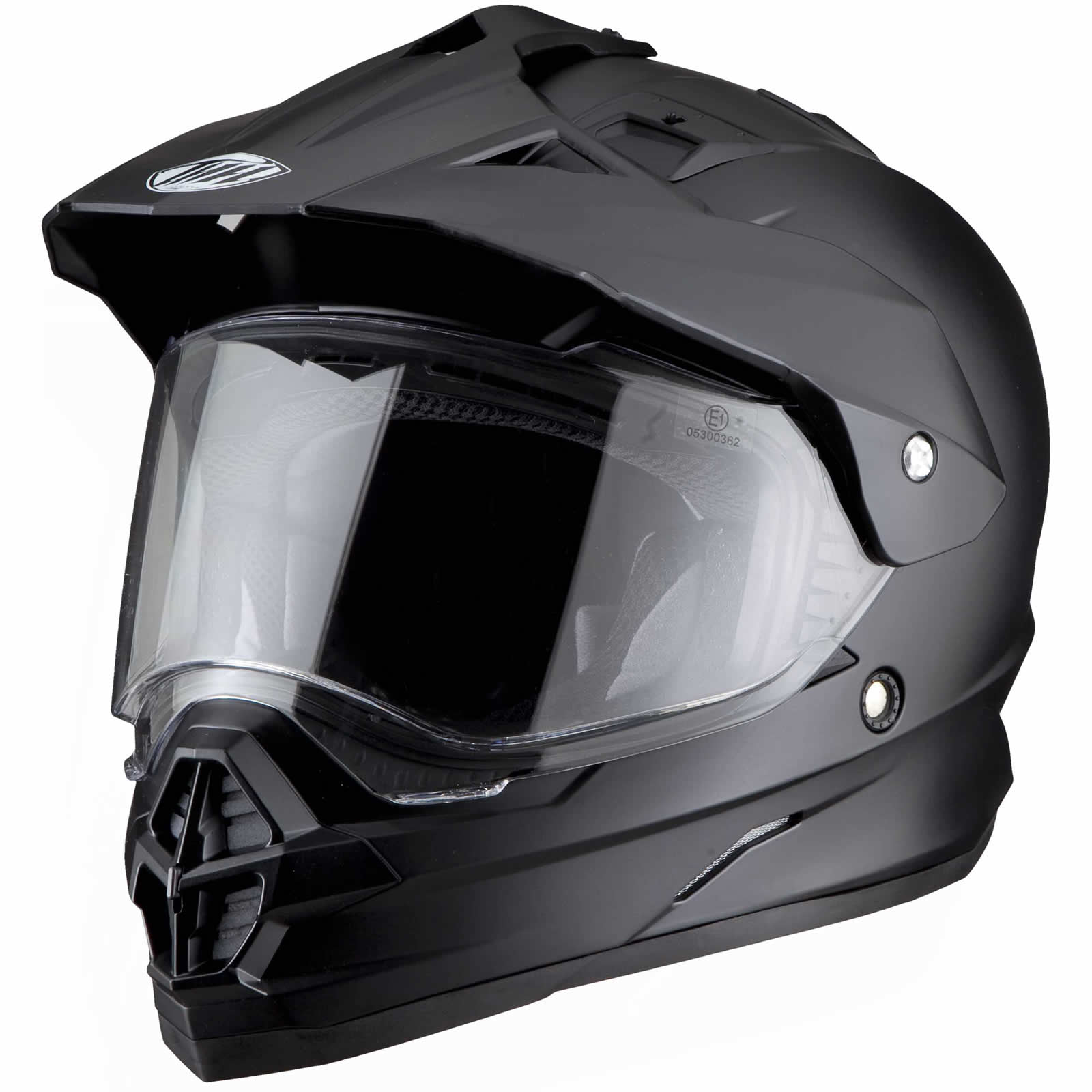 Dirt Bike Helmet With Visor >> Thh Tx 26 Dual Sport Mx Enduro Off Road Motocross Motorcycle Helmet