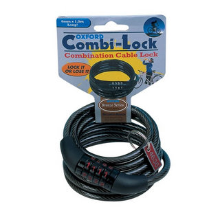 Oxford Combi-Lock (Combination Cable Lock)