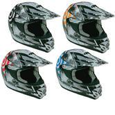 Box MX-5 Target Motocross Helmet