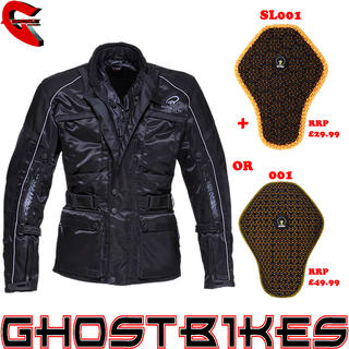 View Item Black Cool-It Pro Motorcycle Jacket And Back Protector