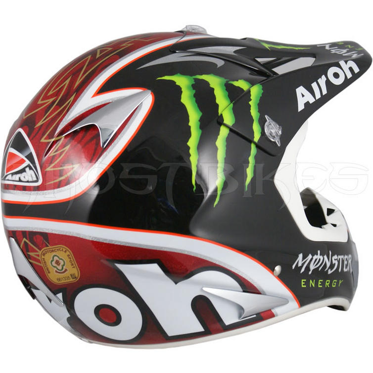 airoh stelt monster energy motocross helmet full face. Black Bedroom Furniture Sets. Home Design Ideas
