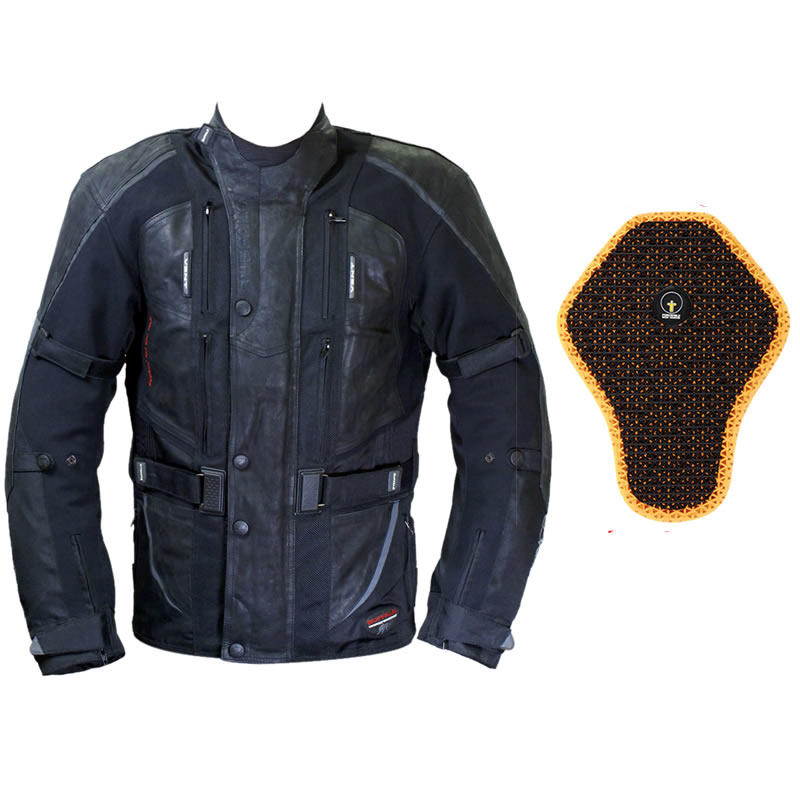 Buffalo Endurance Motorcycle Jacket And Back Protector
