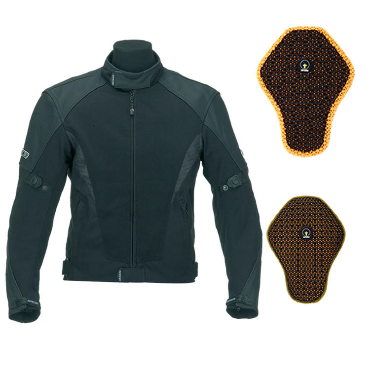 Spada Mesh Tech Summer Motorcycle Jacket And Back Protector