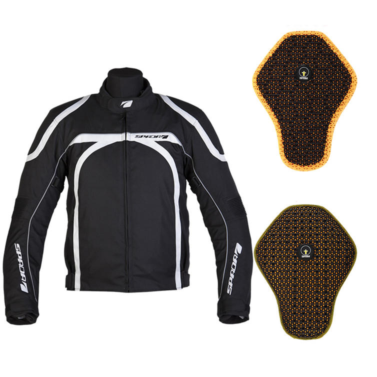 Spada Hairpin Motorcycle Jacket And Back Protector