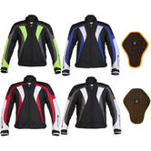 Spada RPM Motorcycle Jacket And Back Protector
