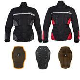 Spada Vision Motorcycle Jacket And Back Protector