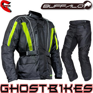 View Item Buffalo Caliber Hi Viz Jacket and Rampage Trousers Kit