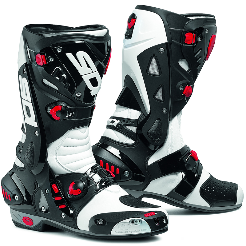 Sidi Vortice Motorcycle Boots Breathable Vented Race Sport Biker ...