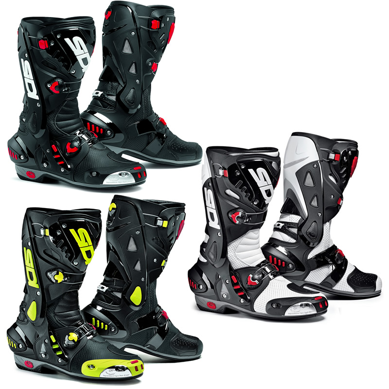 SIDI VORTICE AIR VENTED RACE TRACK SPORTS BIKE MOTORCYCLE ...