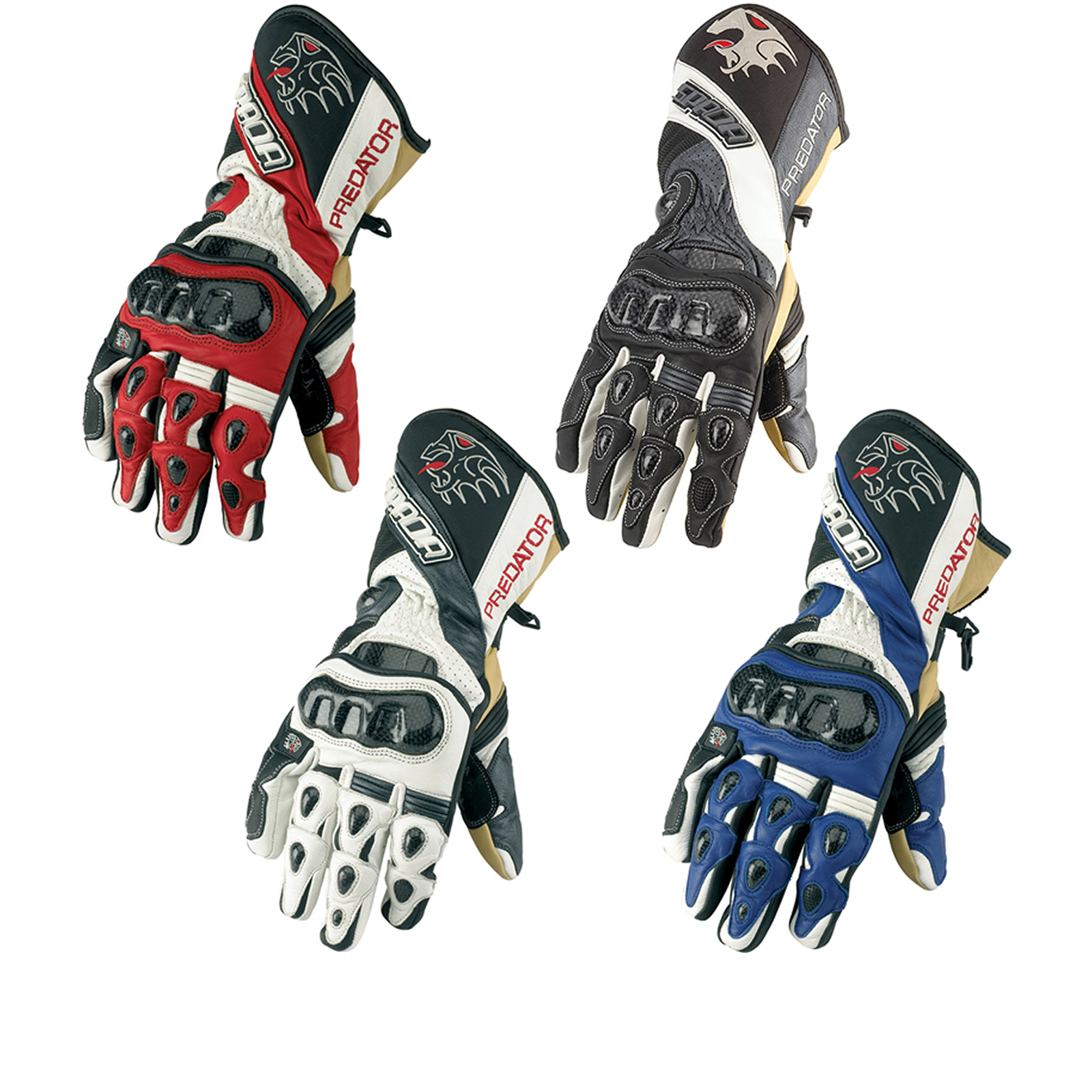 Motorcycle gloves for summer -  Gloves Summer Motorcycle Spada Predator Summer Performance Motorcycle Motorbike Race Track