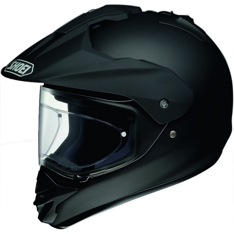 SHOEI HORNET DS MOTOCROSS STRA?EN/GELÄNDER ENDURO HELM MATT Schwarz 59-60 cm L Enlarged Preview