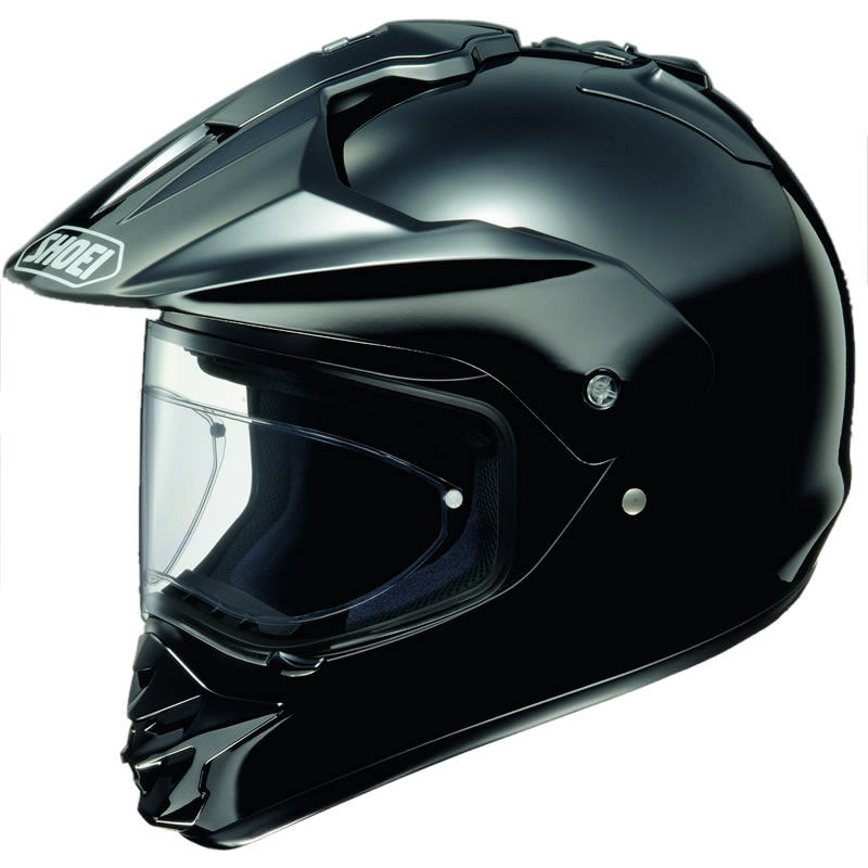 SHOEI HORNET DS MOTOCROSS STRA?EN/GELÄNDER ENDURO HELM Schwarz 59-60 cm L Enlarged Preview
