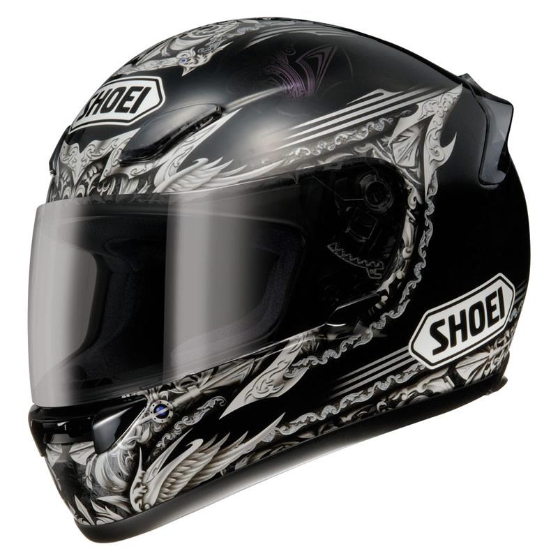 shoei xr 1000 diabolic nightwing helmet full face. Black Bedroom Furniture Sets. Home Design Ideas