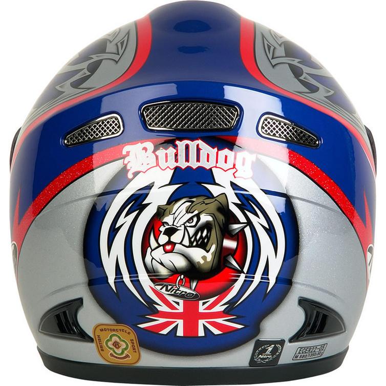 Nitro racing n750 vx bulldog motorcycle helmet full face helmets