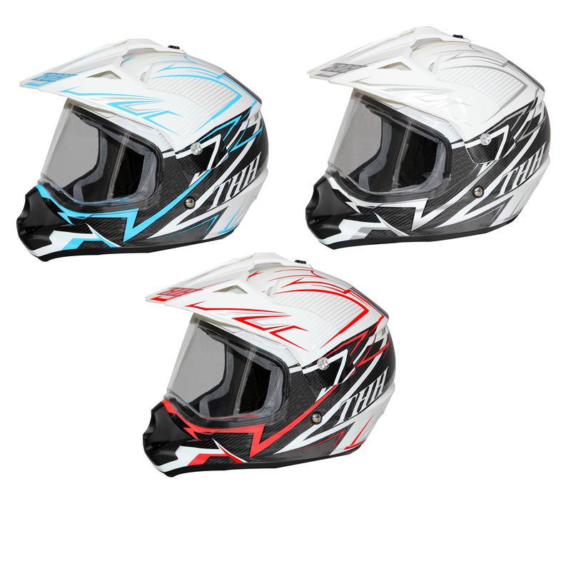 THH TX-13 #1 Dual Sport Motocross Helmet