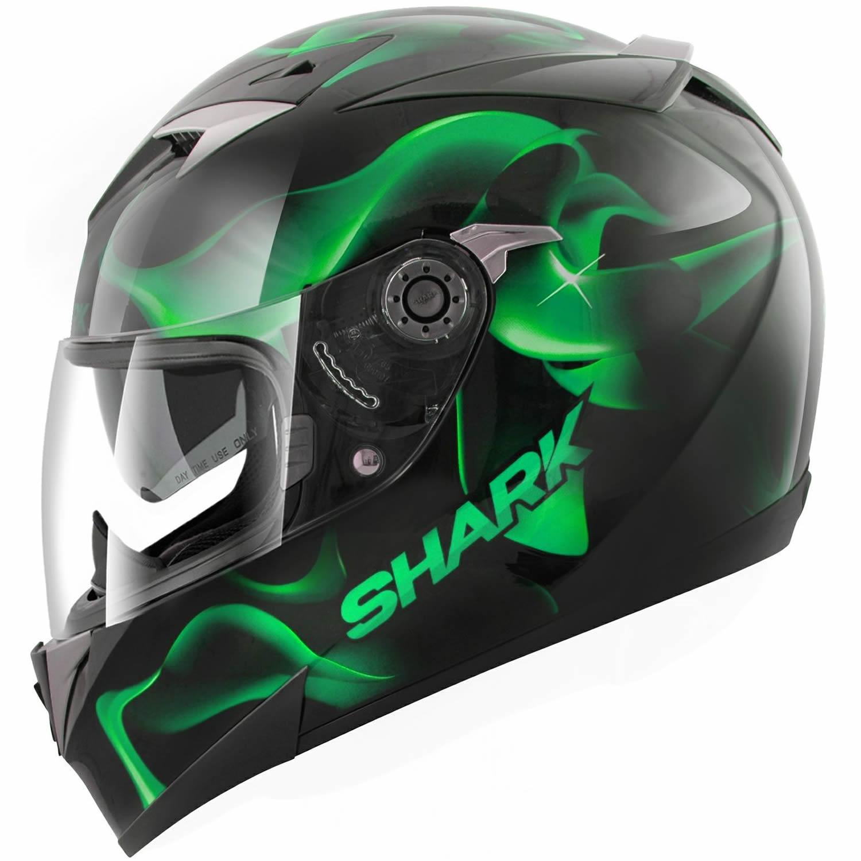 Shark s900 c glow 3 moto sport course casque int gral pare - Casque moto course ...