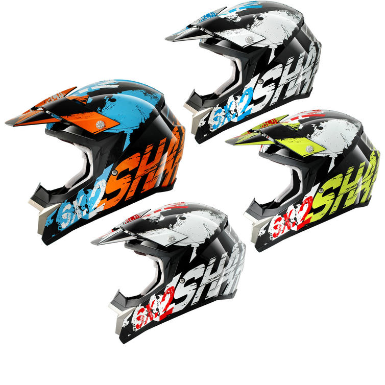 Shark SX2 Freak Motocross Helmet