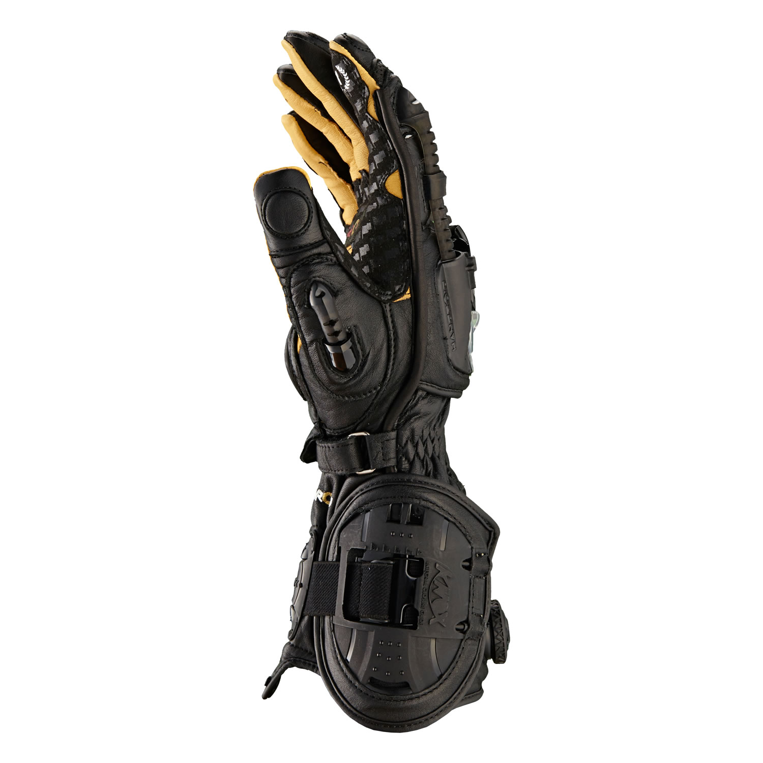 Motorcycle gloves ce approved - Knox Handroid Ce Approved Armoured Racing Sports Track