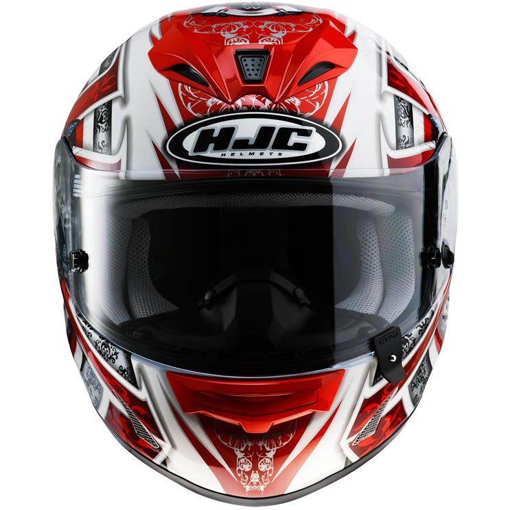 hjc fg 15 trophy ben spies replica motorcycle helmet xl ebay. Black Bedroom Furniture Sets. Home Design Ideas