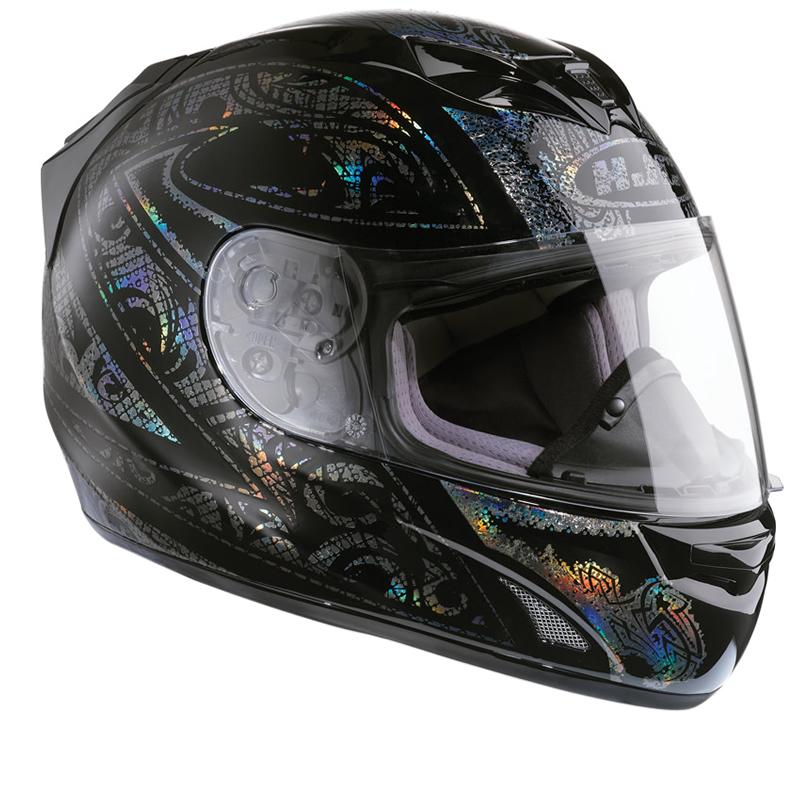 hjc fg 15 prism holographic acu gold motorbike motorcycle. Black Bedroom Furniture Sets. Home Design Ideas