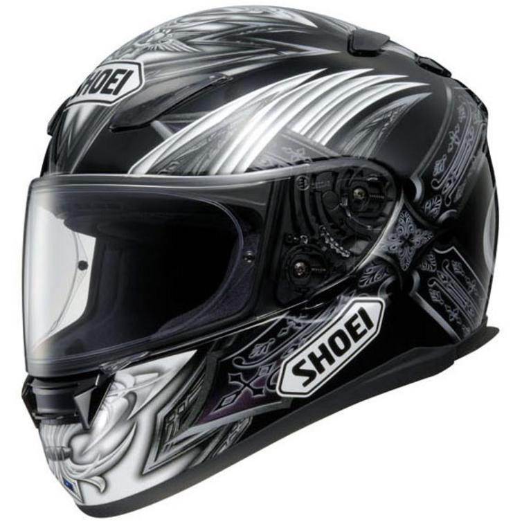shoei xr 1100 diabolic cimmerian helmet full face. Black Bedroom Furniture Sets. Home Design Ideas