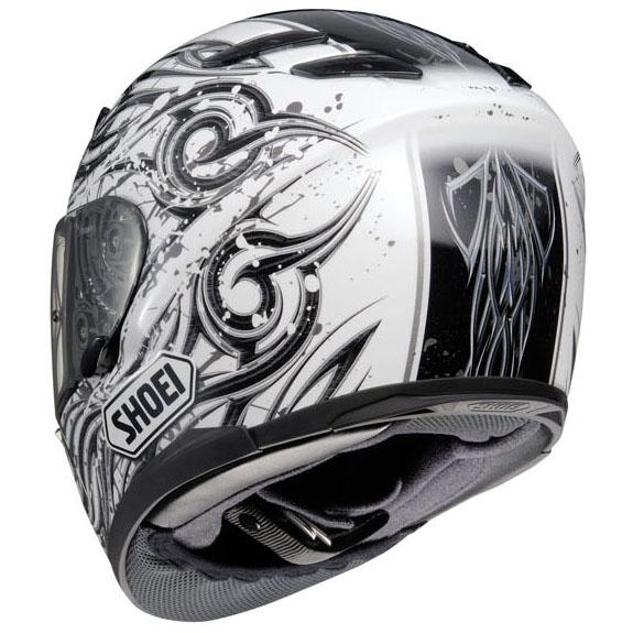 shoei xr1100 hadron tc6 motorcycle helmet white xl ebay. Black Bedroom Furniture Sets. Home Design Ideas